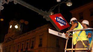 La estación de Sol y la Línea 2 de Metro de Madrid recuperan su nombre original
