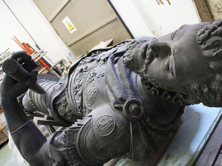 Estatua de Felipe II.