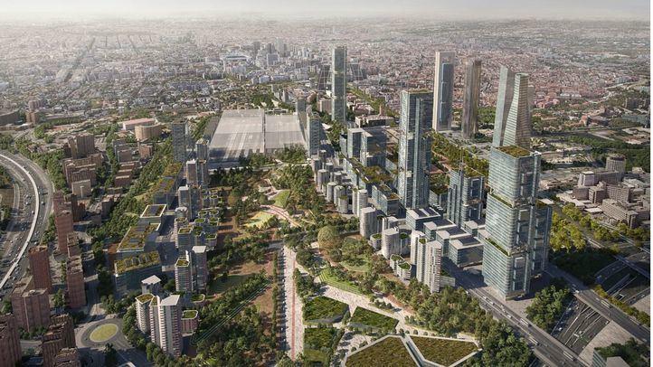 El TSJM avala la aprobación provisional de Madrid Nuevo Norte