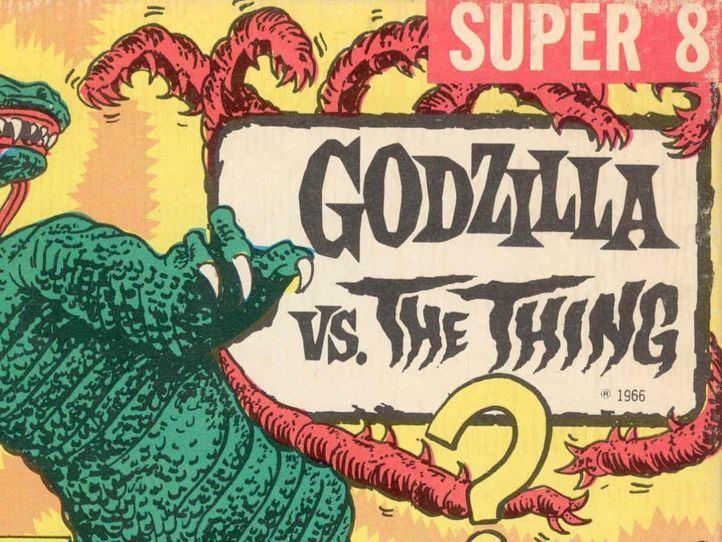 Cartel de 'Godzilla vs. The Thing' (1964)