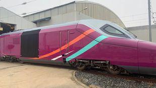 El AVE 'low cost' de Renfe se llamará AVLO y lucirá el color morado.