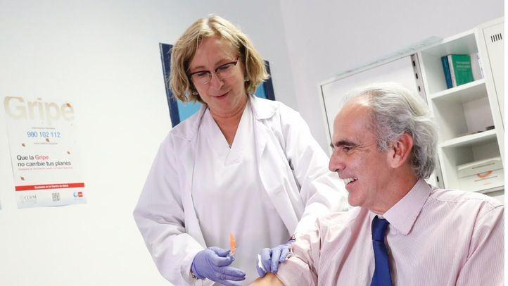 Campaña de vacunación contra la gripe.