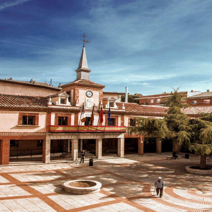 Fachada exterior del Consistorio del municipio.