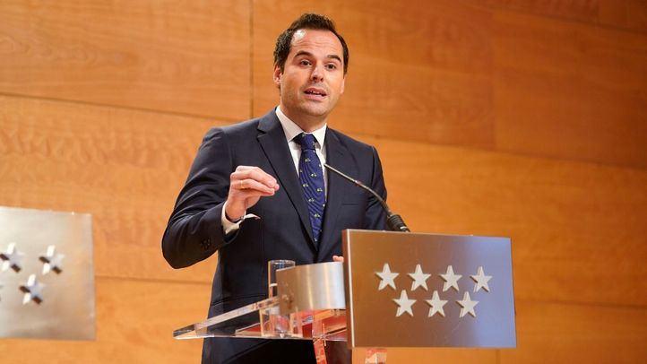 Ignacio Aguado, presidente de la Comunidad.