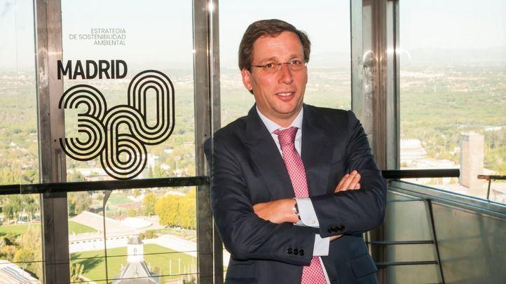 Almeida, en la presentación de Madrid 360.