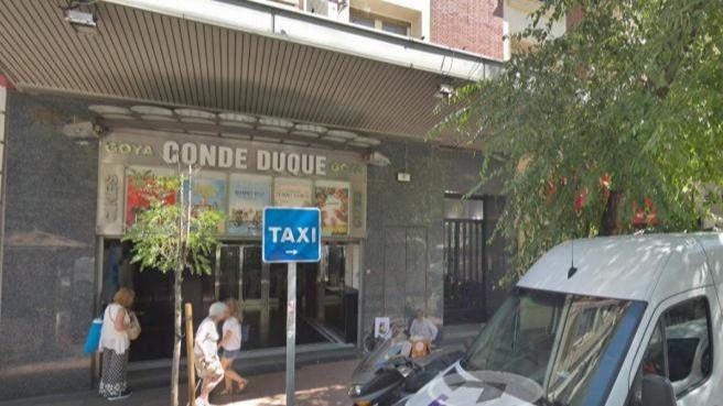 Cines Conde Duque Goya.