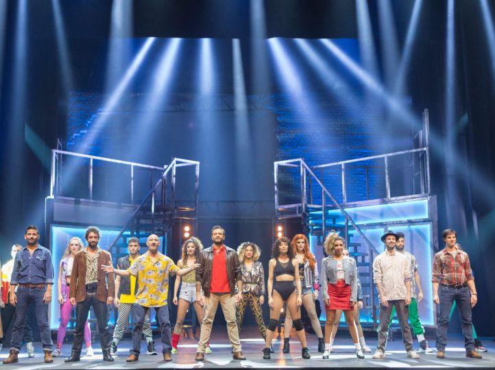 Flashdance se estrena en el teatro Nuevo Apolo hasta el mes de abril.