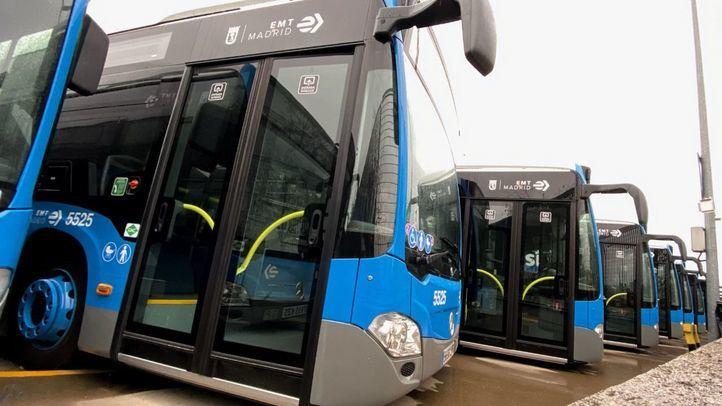 La puesta en marcha de las dos líneas gratis de EMT implica la contratación de 90 nuevos trabajadores