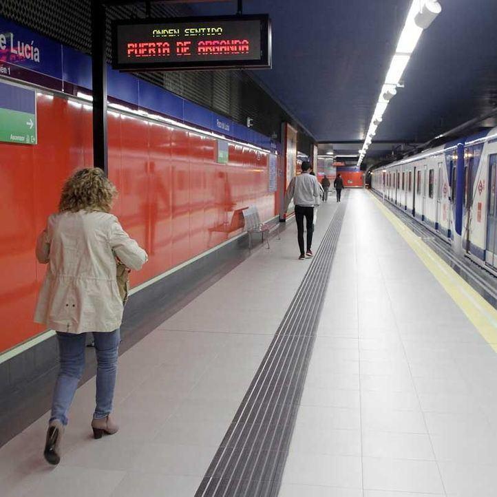 El servicio de Metro entre estas paradas se restablecerá en una hora aproximadamente.