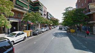 Calle de la Oca, en Vista Alegre