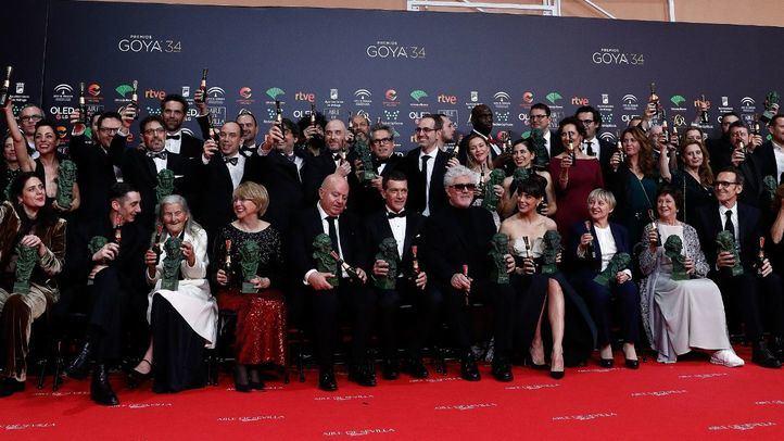 Almodóvar triunfa en la 34º edición con Dolor y Gloria
