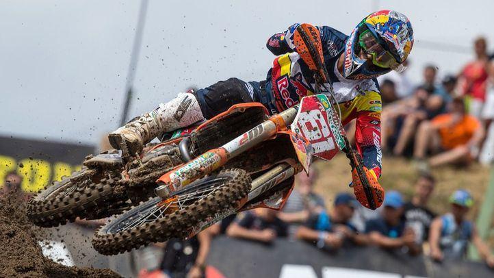 El piloto español de Motocross, Jorge Prado