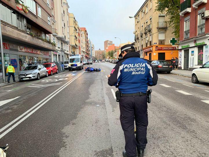 Vallecas y Centro, los distritos donde más personas detuvo la Policía Municipal en 2019