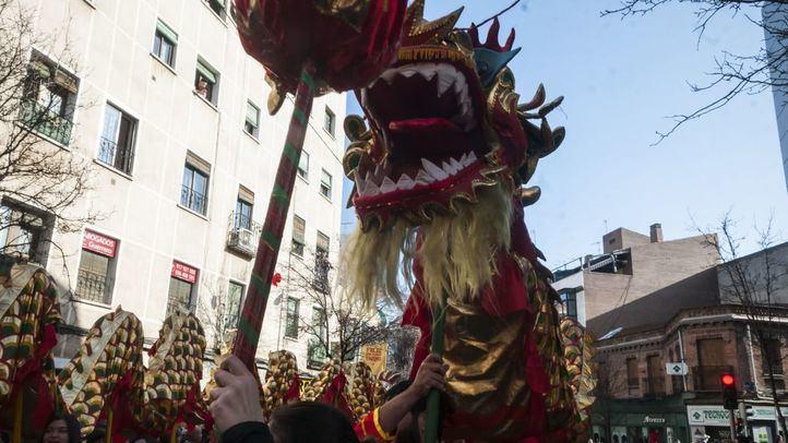 Cabalgata del Año Nuevo Chino en Usera