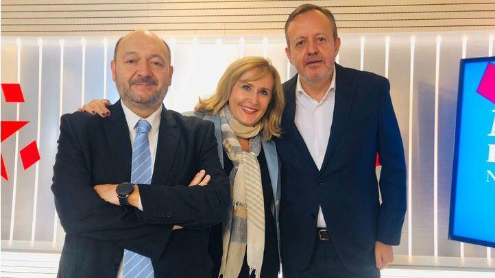 Alberto Reyero en su visita a Com.Permiso el pasado noviembre.