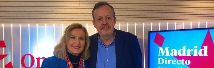 Nieves Herrero junto a Alberto Reyero en la edición del pasado lunes de Com.Permiso