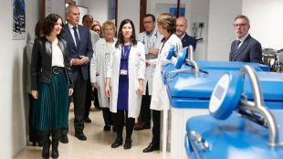 Ayuso anuncia la creación de una Red de Terapias Avanzadas de Hematología para potenciar los ensayos clínicos con CAR-T
