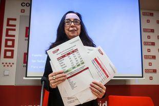 Isabel Galvín, secretaria general de la Federación de Enseñanza de CCOO Madrid.
