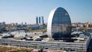 Edificio La Vela, sede de BBVA.