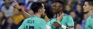 Vinicius al fin despierta en el partido del Madrid en Zaragoza