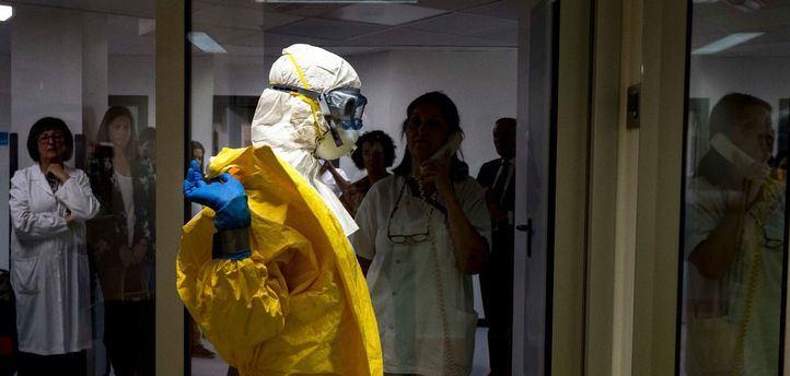 La Unidad de Aislamiento de Alto Nivel del Hospital La Paz-Carlos III