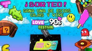 El festival 'Love the 90's' se celebrará el 13 de junio en Ifema