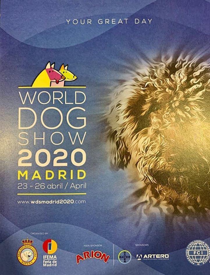 Cartel del World Dog Show