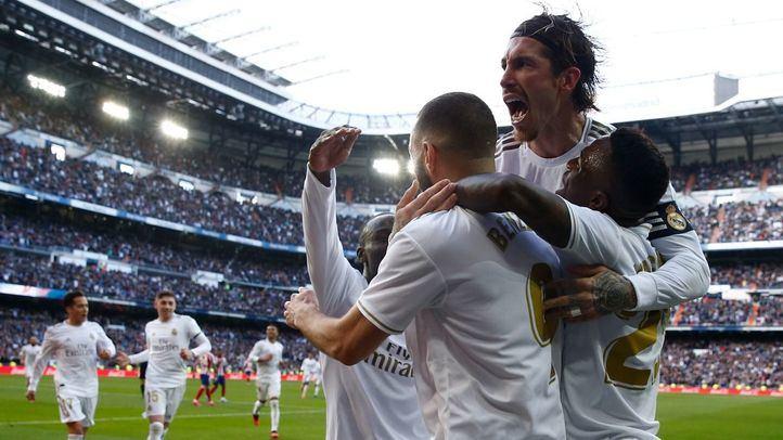 Benzema inclina la balanza del derbi hacia el lado del Madrid