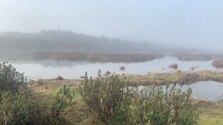 Laguna de Valdemanco, uno de los humedales más importantes de la región