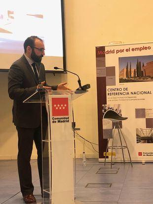 El consejero de Economía de la Comunidad de Madrid