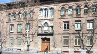 Fachada del colegio público Concepción Arenal