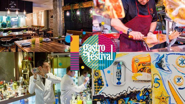 Uno de los carteles de la XI edición del Gastrofestival en Madrid