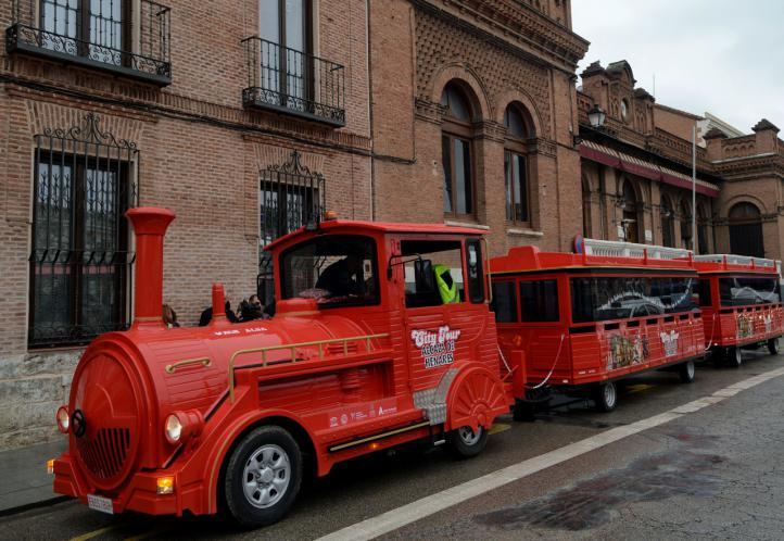 Alcalá presenta su nuevo Tren Turístico, Alcalá City Tour