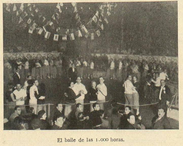 Baile de resistencia en el Price el año 1932