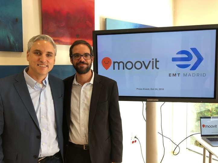 EMT y Moovit se alían para mejorar el transporte público