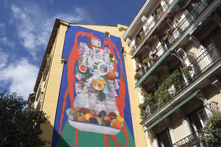 Nuevos murales en las calles de Madrid