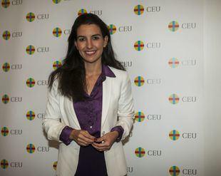 La portavoz de Vox Madrid, Rocío Monasterio, en una foto de archivo