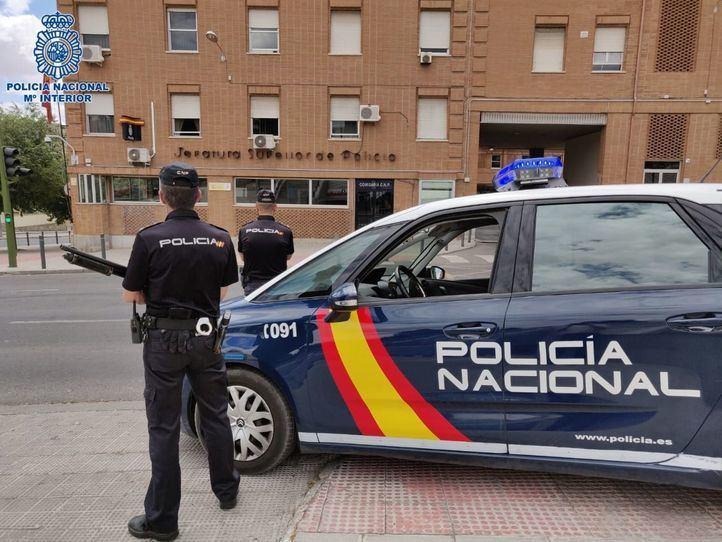 La Policía Nacional, en una operación.