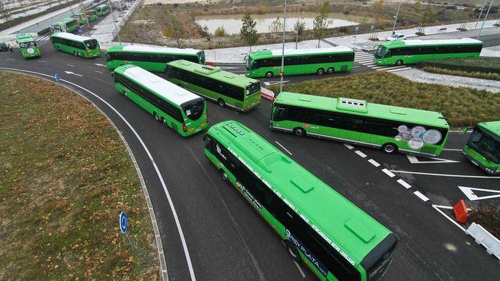 41 solicitudes en la primera semana de paradas a demanda en buses interurbanos
