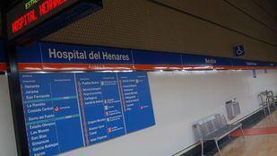 La estación de Metro Hospital del Henares