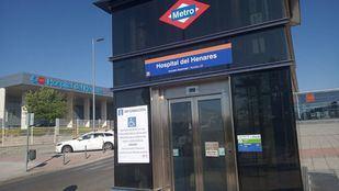 El comité de empresa pidió a Metro el cierre de la estación del Hospital del Henares