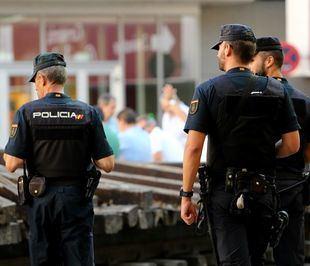 La Policía Nacional, en una foto de archivo