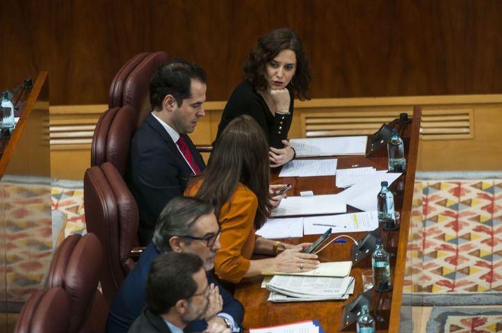 Primer Pleno del año en la Asamblea de Madrid