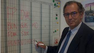 El consejero de Educación y Juventud, Enrique Ossorio.