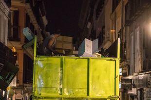 Desarticulada una red dedicada a la gestión irregular de residuos de cartón