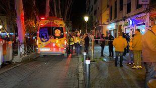 El herido fue trasladado al Gregorio Marañón