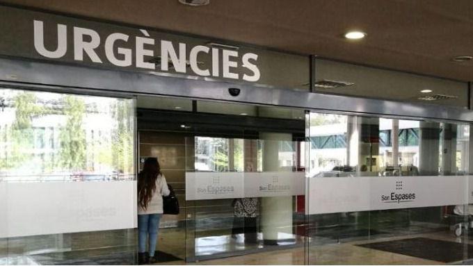Urgencias de un hospital en Baleares