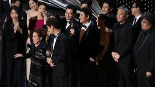 'Parásitos' en la gala de los Oscar