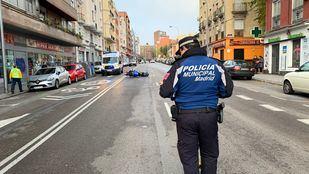 La Policía Nacional ha desplegado un dispositivo especial compuesto por más de 400 efectivos.