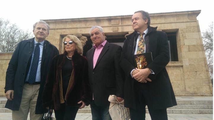 El egiptólogo Zahi Hawass pide más protección para el Templo de Debod